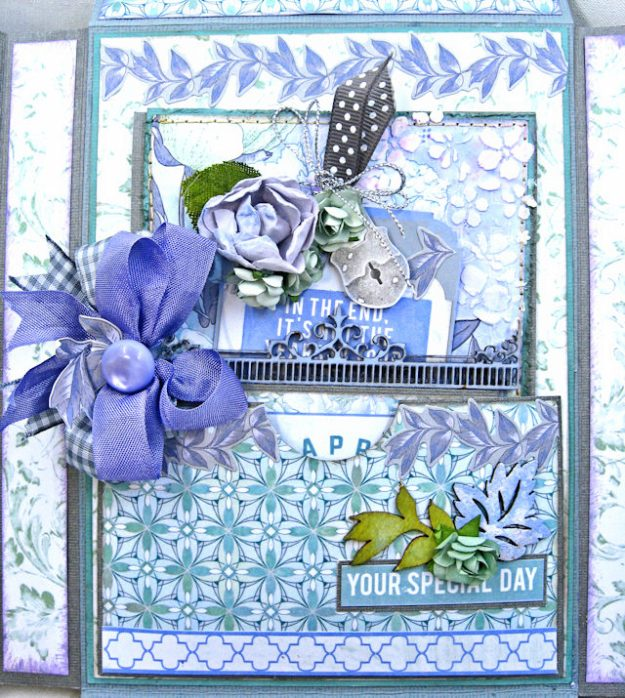 Kaisercraft 2017/18 Design Team Application Lilac Whisper Celebration Folio by Kathy Clement Product by Kaisercraft Photo 15