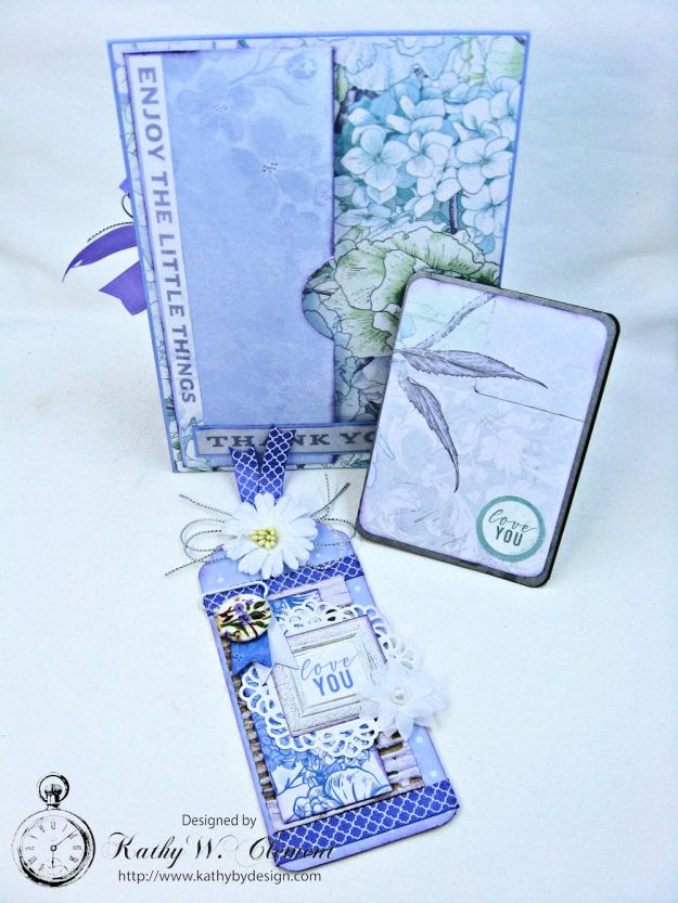 Lilac Whisper Thank You Card by Kathy Clement for RRR Product by Kaisercraft Photo 5