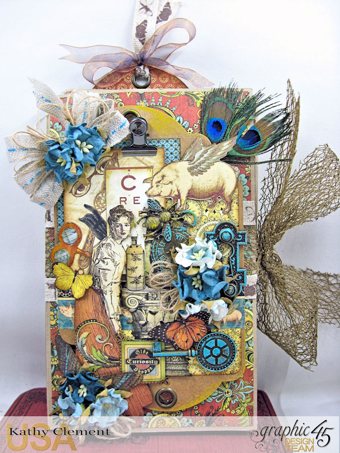 Goin Junkin Olde Curiosity Shoppe Folio by Kathy Clement Product by Graphic 45 Photo 1
