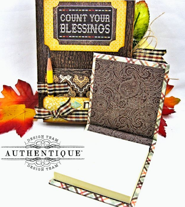 Back to School Mini Message Center Bountiful by Kathy Clement Product by Authentique Photo 5