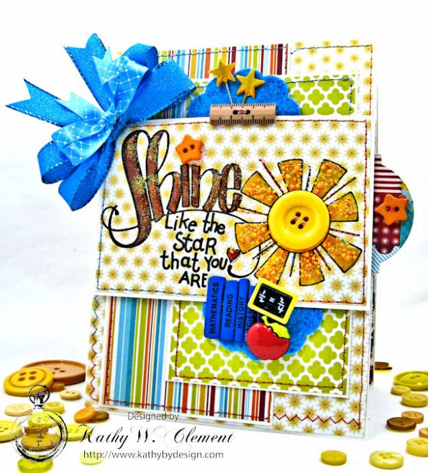 Shine Back to School Lunchbox Surprise by Kathy Clement for Tammy Tutterow Designs Photo 1
