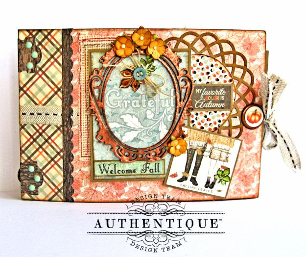 Authentique Bountiful Fall Home Decor Tutorial by Kathy Clement Photo 7