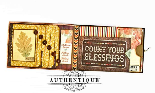 Authentique Bountiful Fall Home Decor Tutorial by Kathy Clement Photo 9