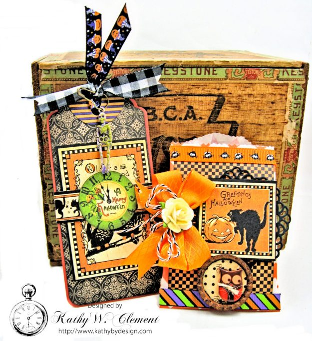 Butterfinger Halloween Treat Bags by Kathy Clement for RRR September 2017 Blog Hop Photo 3
