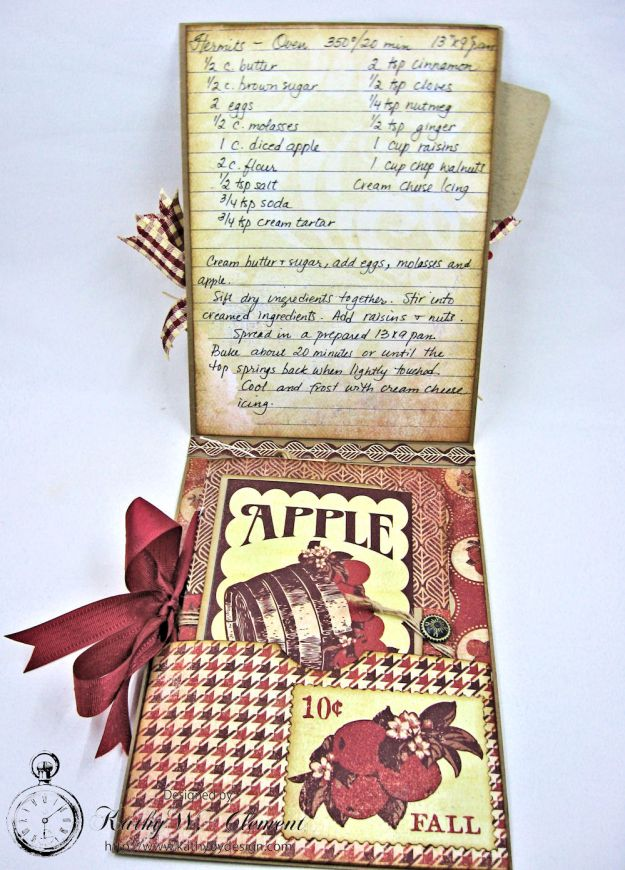 Counting My Blessings Fall Folio by Kathy Clement for Really Reasonable Ribbon Product by Authentique Photo 8