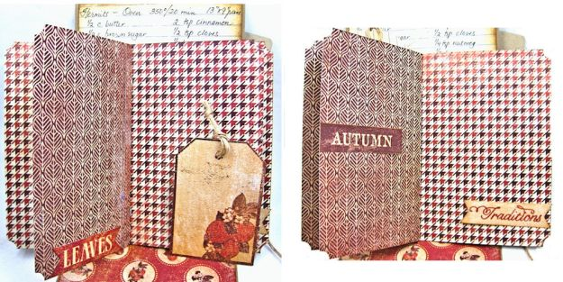 Counting My Blessings Fall Folio by Kathy Clement for Really Reasonable Ribbon Product by Authentique Photo 11