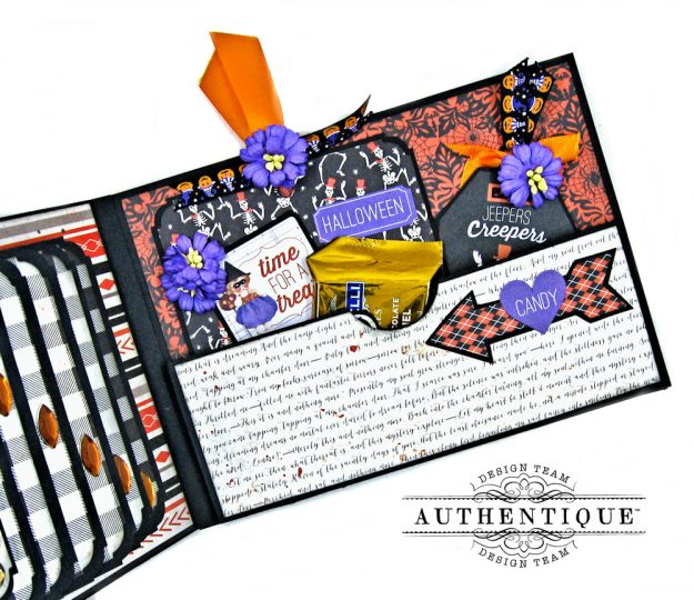 Authentique Bewitched Halloween Card Folio by Kathy Clement Photo 8