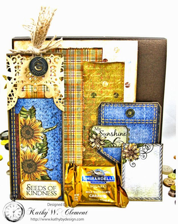 Heartfelt Creations Classic Sunflower Birthday Card Folio by Kathy Clement Photo 7