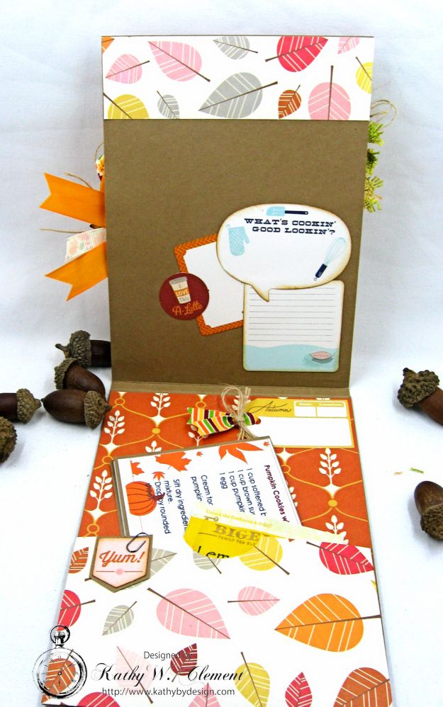 Autumn Love All Occasion Greeting Card by Kathy Clement for Really Reasonable Ribbon Photo  5