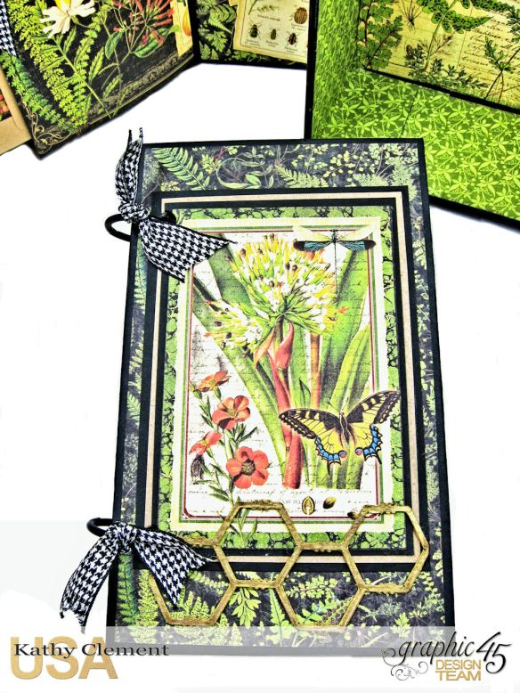 Nature Sketchbook Correspondence Kit Nature Sketchbook by Kathy Clement Product by Graphic 45 Photo 10