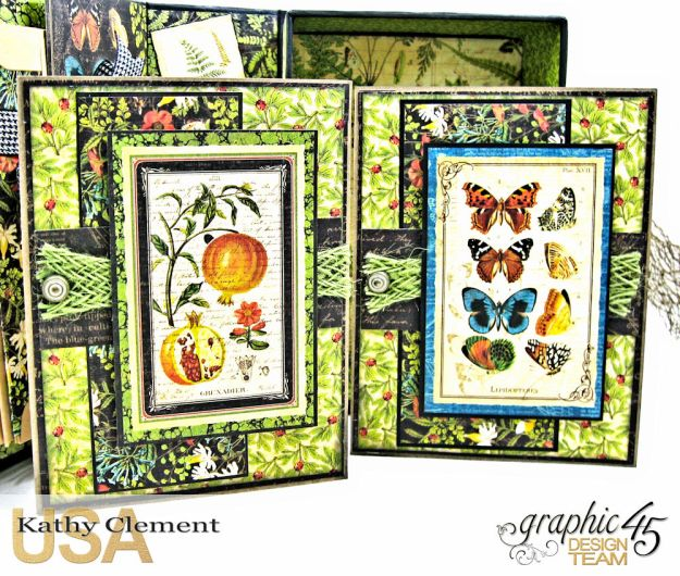 Nature Sketchbook Correspondence Kit Nature Sketchbook by Kathy Clement Product by Graphic 45 Photo 9