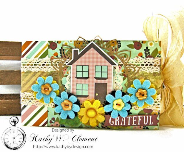 Grateful Paper Bag Envelope Mini Album by Kathy Clement Product by Tammy Tutterow Designs Photo 1