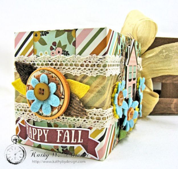 Grateful Paper Bag Envelope Mini Album by Kathy Clement Product by Tammy Tutterow Designs Photo 2