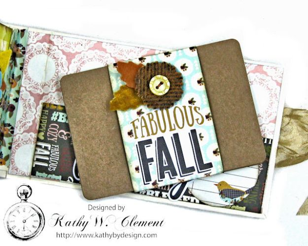 Grateful Paper Bag Envelope Mini Album by Kathy Clement Product by Tammy Tutterow Designs Photo 16