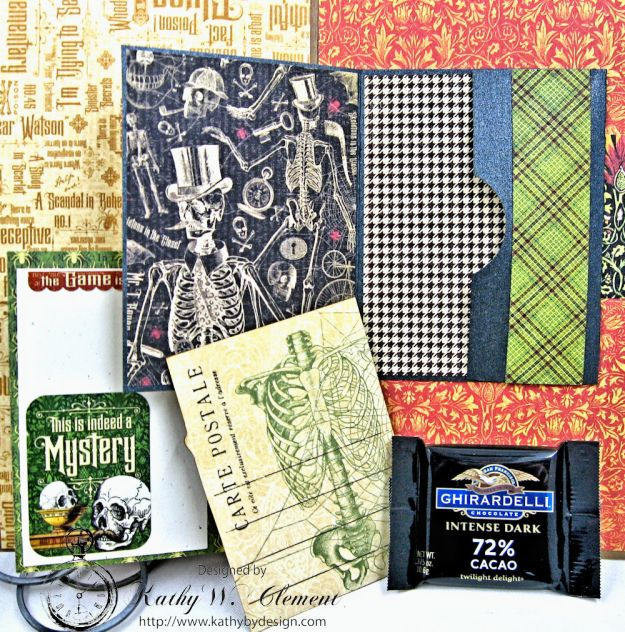 Sinister Secrets Master Detective Shaker Card Tutorial by Kathy Clement for Really Reasonable Ribbon Photo  9