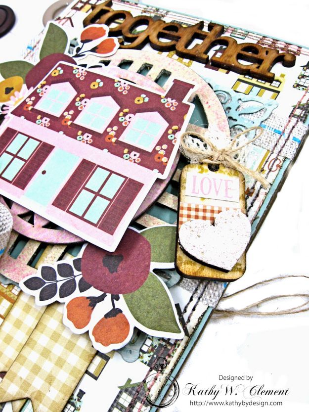 Together Card Folio Vintage Blessings by Kathy Clement for Really Reasonable Ribbon Product by Simple Stories Photo 4