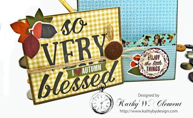 Together Card Folio Vintage Blessings by Kathy Clement for Really Reasonable Ribbon Product by Simple Stories Photo 7