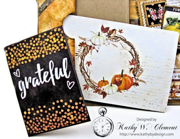 Amber Moon Blessed Birthday Greeting Card by Kathy Clement Photo 8