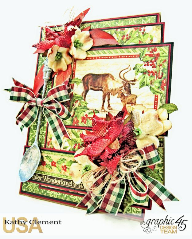 A Spoonful of Christmas Winter Wonderland by Kathy Clement Product by Graphic 45 Photo 1