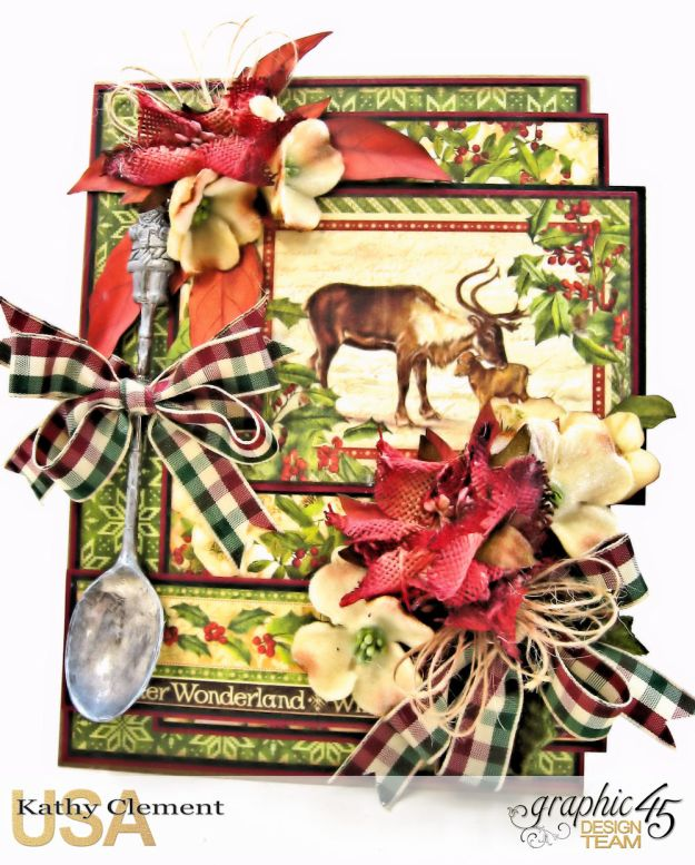 A Spoonful of Christmas Winter Wonderland by Kathy Clement Product by Graphic 45 Photo 3