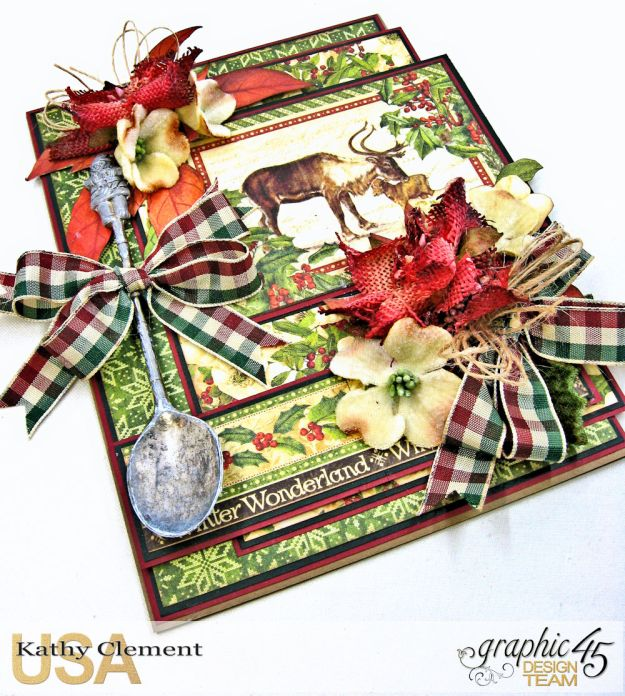 A Spoonful of Christmas Winter Wonderland by Kathy Clement Product by Graphic 45 Photo 4