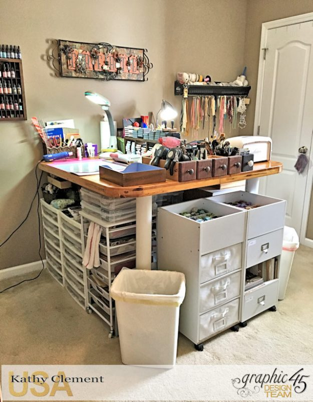 Kathy by Design Studio Tour with Storage, Organization and Money Saving Tips Photo 3