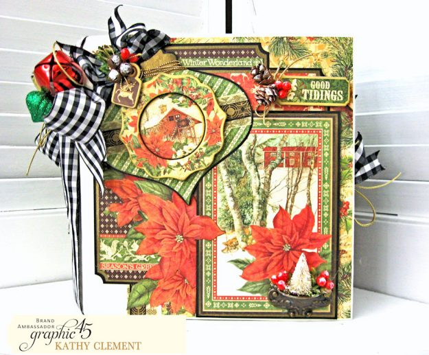 Winter Wonderland December Daily Winter Wonderland by Kathy Clement Product by Graphic 45 Photo 3