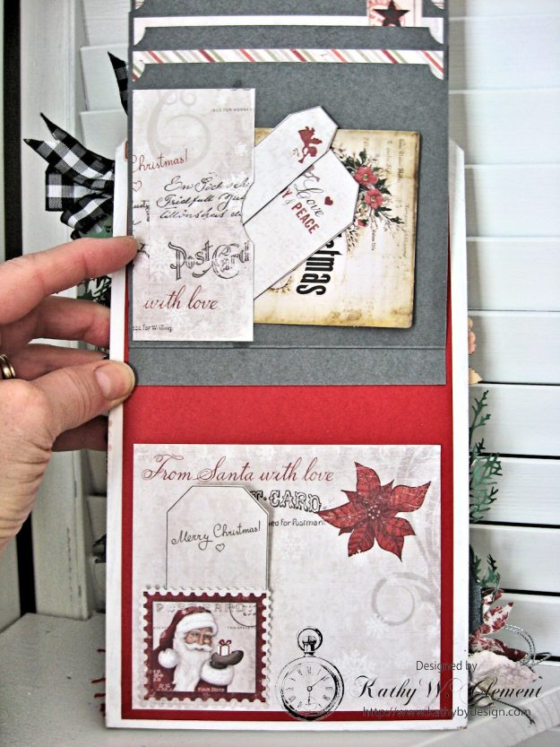 White Christmas Etcetera Shaker Tag by Kathy Clement for Frilly and Funkie Challenge Blog Photo 9
