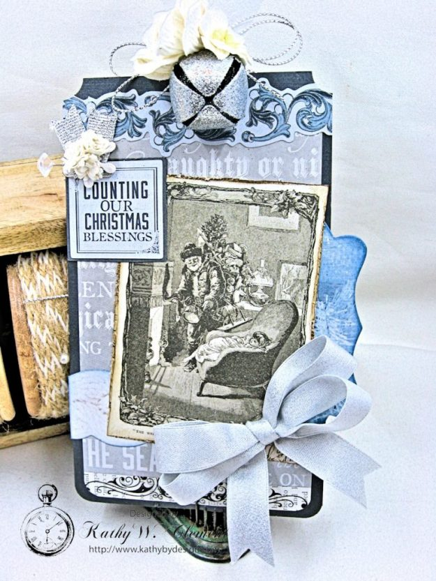 Kaisercraft Frosted Last Minute Gift Tags by Kathy Clement Photo 6