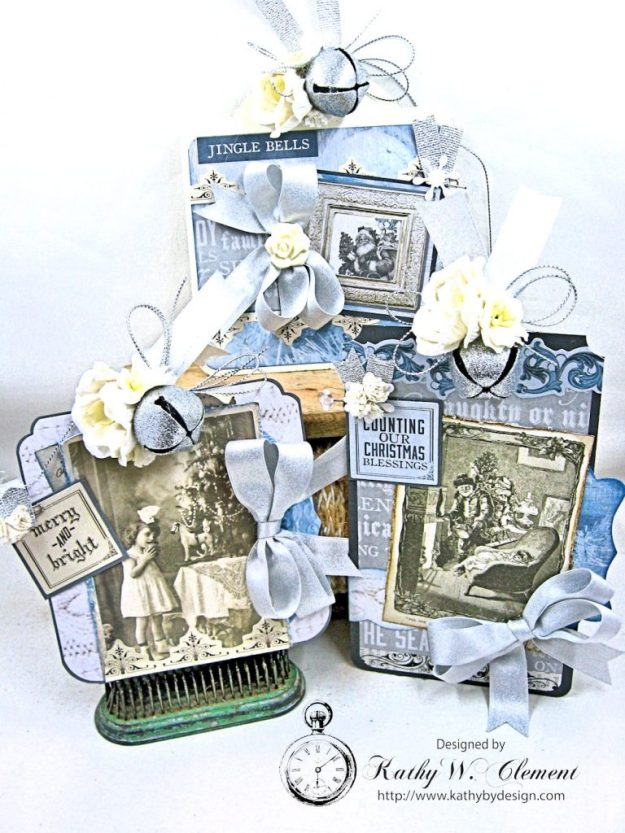 Kaisercraft Frosted Last Minute Gift Tags by Kathy Clement Photo 1