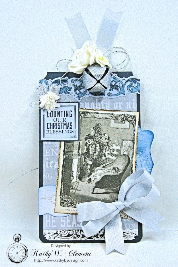 Kaisercraft Frosted Last Minute Gift Tags by Kathy Clement Photo 5