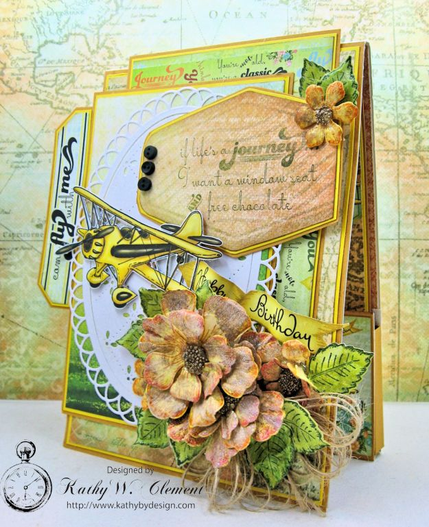 Heartfelt Creations Young at Heart Birthday Card Young at Heart by Kathy Clement Product by Heartfelt Creations Photo 3