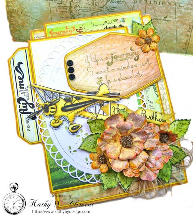 Heartfelt Creations Young at Heart Birthday Card Young at Heart by Kathy Clement Product by Heartfelt Creations Photo 4