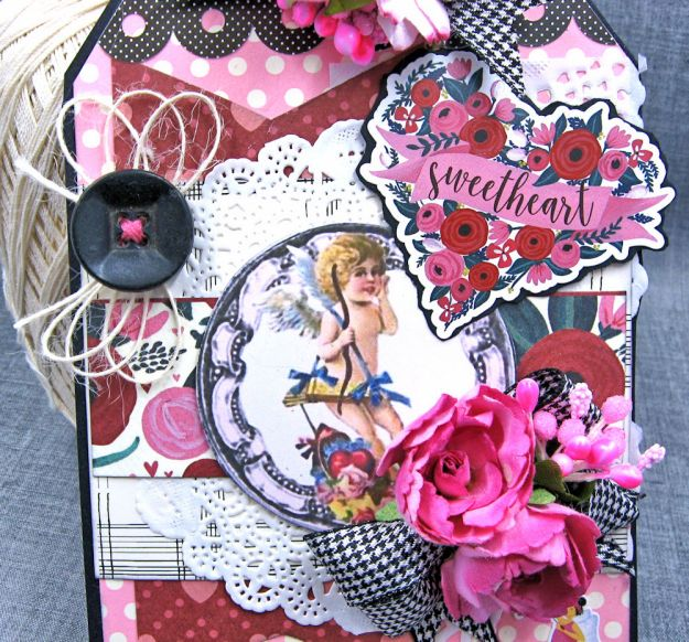 Shabby Chic Valentine Tag by Kathy Clement Photo 3