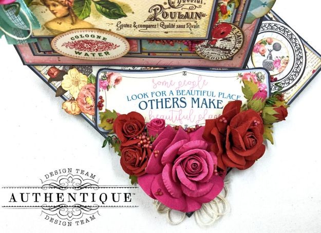Authentique Dame Easel Cards Tutorial by Kathy Clement Photo 4