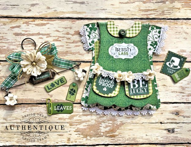 Authentique Shamrock Saint Patrick's Day Home Decor by Kathy Clement Photo 11