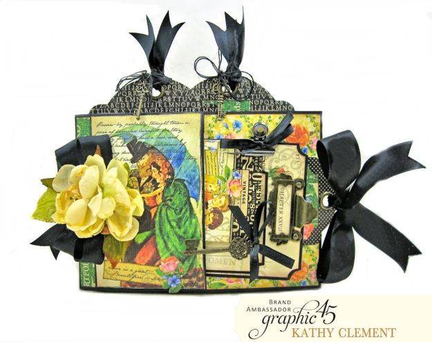 Graphic 45 Something Splendid Tri Fold Folio Little Women by Kathy Clement Product by Graphic 45 Photo 1