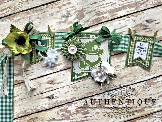 Authentique Shamrock Saint Patrick's Day Home Decor by Kathy Clement Photo 2