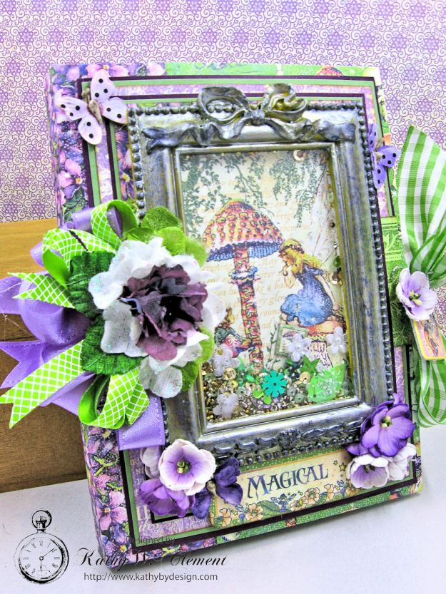 Graphic 45 Fairie Dust Waterfall Folio Fairie Dust by Kathy Clement for RRR Product by Graphic 45 Photo 2