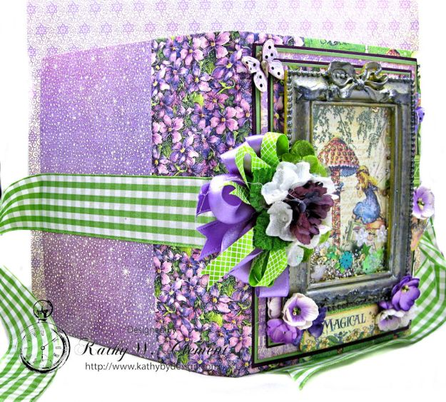 Graphic 45 Fairie Dust Waterfall Folio Fairie Dust by Kathy Clement for RRR Product by Graphic 45 Photo 3