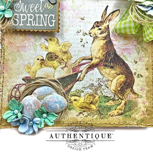 Authentique Jubilee Project Share and Center Step Easel Card Tutorial by Kathy Clement Photo 12