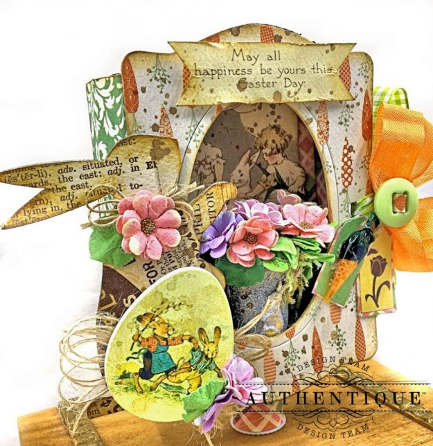 Authentique Jubilee Project Share and Center Step Easel Card Tutorial by Kathy Clement Photo 06