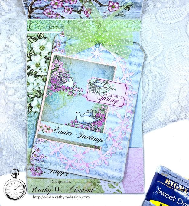 Heartfelt Easter Dogwoods Greeting Card Flowering Dogwood by Kathy Clement Product by Heartfelt Creations Photo 08