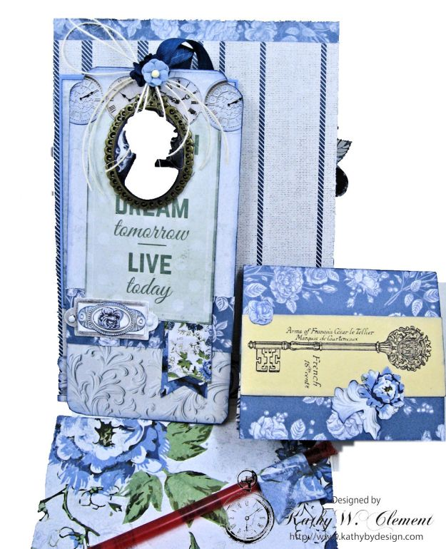 Shabby Chic Friendship Card Wandering Ivy by Kathy Clement Product by Kaisercraft Photo 08