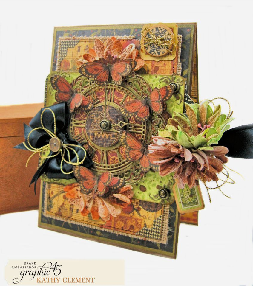 Graphic 45 Botanicabella Sympathy Card Botanicabella by Kathy Clement Product by Graphic 45 Photo 01