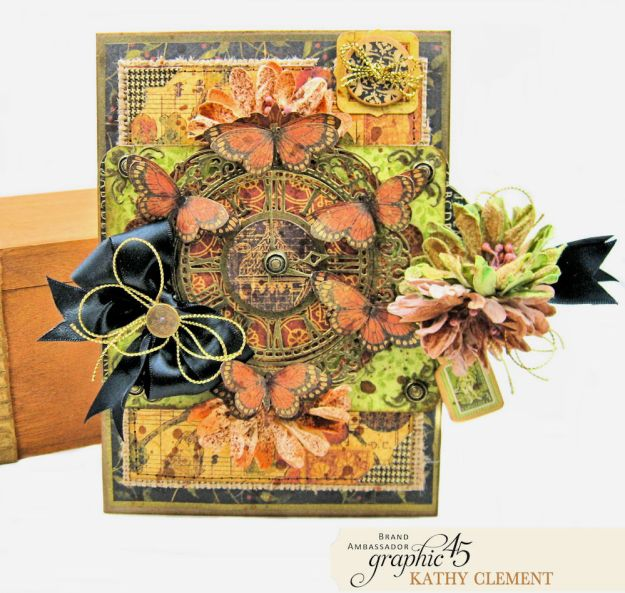 Graphic 45 Botanicabella Sympathy Card Botanicabella by Kathy Clement Product by Graphic 45 Photo 02