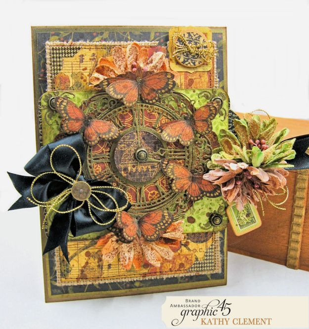 Graphic 45 Botanicabella Sympathy Card Botanicabella by Kathy Clement Product by Graphic 45 Photo 03