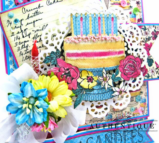 His and Hers Birthday Card Folios Party by Kathy Clement Product by Authentique Paper Photo  04