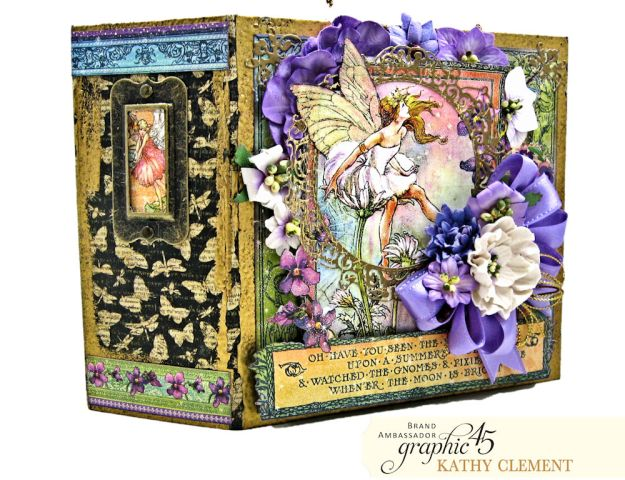 Fairie Dust Mini Album Fairie Dust by Kathy Clement Product by Graphic 45 Photo 02