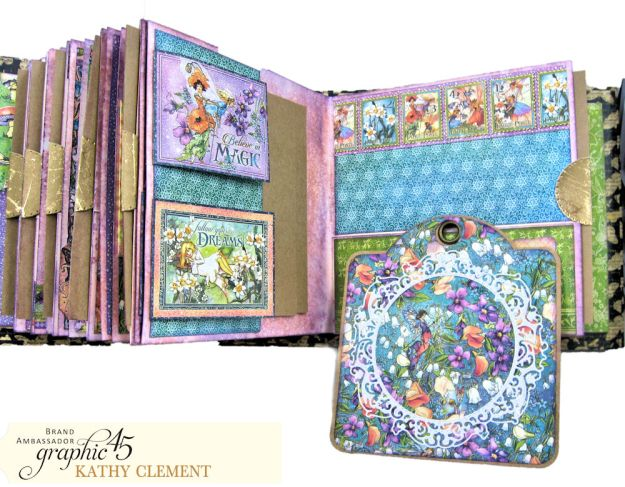 Fairie Dust Mini Album Fairie Dust by Kathy Clement Product by Graphic 45 Photo 10